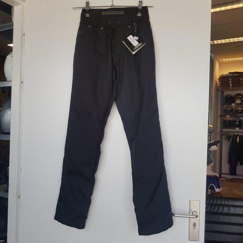 Zwart textiel jeans model